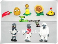 Plants vs Zombies PVZ Collection PVC Figures and retail ( 8 pcs/set ) 50set/lot