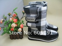 2013 Hot sale Free shipping New Arrival Canvas Snow  jogger Sakura Snow Boots Full color