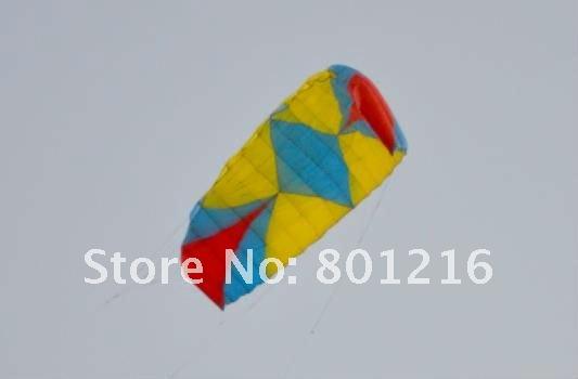 2.5sqm Zero Rainbow power kites,snow kites,foil kites+4x25m 330lbs dyneema line+handle(China (Mainland))