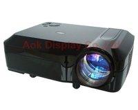 2600 lumen LED+LCD projector with 3HDMI ,2USB,S-video,AV,VGA,YPbPr 1080i Free shipping