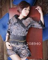 2012 Hot Sell Lingerie Sexy Kimono Cheongsam Cosplay Skirt