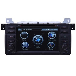 2001/02/03/04/05/06 BMW E46 M3 Special Car GPS Navigation Custom Media Audio DVD Player with Bluetooth iPod RDS TV USB SD AUX-IN(China (Mainland))
