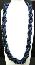 wholesale free shipping fashion glass beaded necklace 14pcs/lot(China (Mainland))
