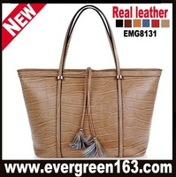 leather handbags designer nice bags for women 6 colors Free shipping (EMG8131)