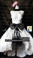 Super deals VOCALOID Luka White robe series Wedding Dress Cosplay Custume Free Shipping