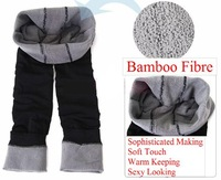 Free shipping + Hot selling / Thicker Bamboo Fiber Leggings /Seamless Leggings/Tights/Thicker & Warm Keeping PT-006