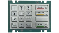 IP65 vandal proof industrial stainless steel numeric keypad(X-KN162B)