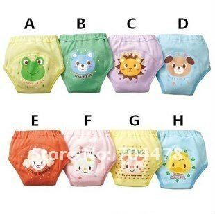 12pcs/lot Baby training pants baby short  christmas gift Code BC-12