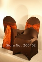free shipping spandex chair cover for  wedding and hotels