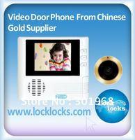 2.8 Inch Digital / Video Peephole Viewer,Digital Door Viewer,Intelliviewer with Camera  300K Pixel, 4X digital zoom