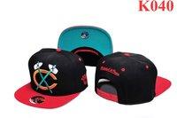 chicago snapbacks blackhawks   snap hats adjustbale snapbacks black 2 tone red black