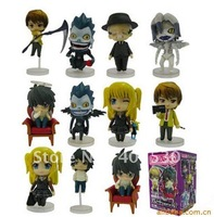 Free shipping Cartoon toys death note 11# 7cm action figure 10pcs/lot