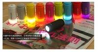 Free shipping+20pcs/lot mini USB chargeable led flashlight torch Model 013