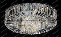 Free shipping LED crystal ceiling lamp / crystal ceiling light/ W660*H200mm G4/16ight Wholesale and retail