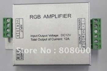 DC 12v led rgb Amplifier 12A 144W for rgb led strip , rgb led module free shipping