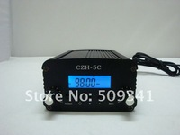 Freeshipping  5W PLL FM radio transmitter kit (1/4 GP antenna and power supply)76-108MHZ