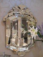 MR201129 glass venetian bathroom wall mirror