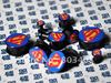 super symbol  ear plug flesh tunnel mixing 10 sizes body piercing jewelry SSLOG03