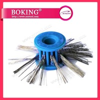 Matt Wire Brushes For Texturing, Blue color, 0.20mm wire dia , Jewelry Making Tools, High quality