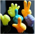 Free shipping(18pcs/lot)HOT SALE Finger shape Fridge Magnets