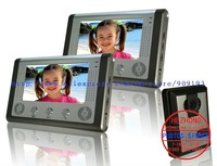 "7"" wire multicolour handfree video doorbell / taking pictures / Archaize color appearance 1 by 2"