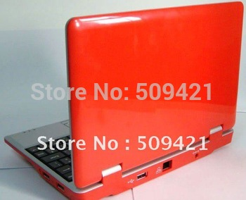 "free shipping Gift Mini Laptop Notebook 7 7"" inch Netbook Notebook for Kids & Ladies"
