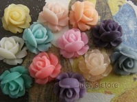 free shipping ZAKKA  mini-roses,DIY Handmade resin flower, wholesale resin cabochon
