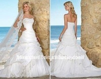 Hot sale Sexy Ruffle Chapel Wedding dress Vendors