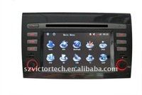 "7"" 2 DIN Car DVD Navigation  for FIAT Bravo with Bluetooth RDS DVB-T IPOD PIP Steering wheel control"