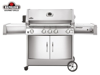 UK Free shipping Napoleon Prestige PT600 Series Gas Barbecue with Rotisserie (send from UK)