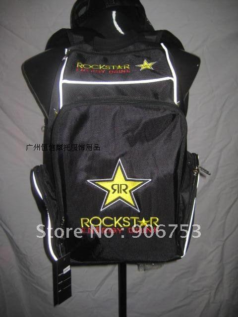 Free sample Rockstar helmet bag backpack bag Motorcycle bag Motocross Backpack Racing Backpack