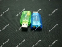 USB 2.0 3D SOUND CARD AUDIO ADAPTER 5.1 CHANNEL