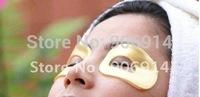 100pcs new 24K karat Magic Collagen Crystal gold eye Mask,Anti-aging,Moisturizing