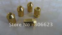 16 ALUMINUM 12x1.25 WHEEL RIM LUG NUTS GOLD