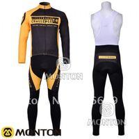 New 2011 LIVESTRONGS Winter Thermal Fleece Long Sleeve Cycling Jersey+Bib Pant/Cycling Wear/Cycling Clothing/Bike Jersey