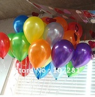 Free shipping 100pcs/lots wholesales 10 inch latex balloons ,round balloons ,Party decoration ,Pearl balloon