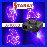 A-1000B Amazing single blue animation laser light