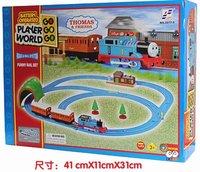 Promotion!Free shipping Thomas Train Car Thomas Electric rail train set / kids toy gift