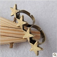 Кольцо Cheap Jewerly R010 Vintage style antique style bronze curved cross ring TB rings for women charms