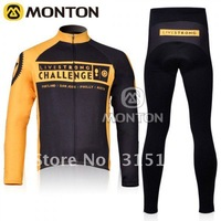 free shipping! 2011  Livestrongs Thermal fleece Long Jerseys and Pants/Cycling Wear/Bike Jersey/winter cycling jersey