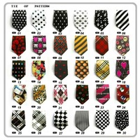 New hot Children tie Students tie Elastic tie Export Children's tie baby tie 10PCS/Lot 30 design + Free shipping