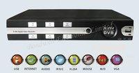 H.264 4CH D1 DVR realtime professional dvr, 4ch standalone cctv DVR9004(on promotion)