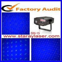 cheap Single blue LED background firefly fireworks  laser light