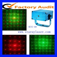 MINI-09 mini disco dj  party club effect laser light