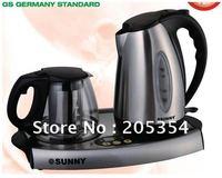 Coffee & Tea Sets ,Coffee & Tea tray ,Electric Kettle,1.2L+1.7L Kettle,Luxury Stainless Steel Electric Kettle