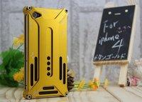 Aluminium transformers case for iphone4 /Metal shell perfect design transformer case for iphone4