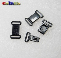 "1000pcs Pack 1/2""(12.5mm) Plastic Safty Breakaway Bra Buckles Front Closure Webbing +Free Shipping+Wholesale #FLC070-B"