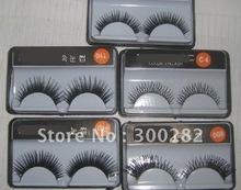 false eyelashes with glue promotion