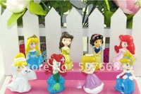 Princesses Figures Cinderella Belle Figures Princesses 50sets/lot Free Shipping