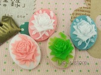 Free shipping High -quality resin flowers,  embossed flowers ,DIY Handmade jewelry accessories resin cameo